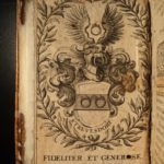 1590 LAW Corpus Denis Godefroy CHARLES V Military ROYAL Armorial BINDING Corpus iuris civilis