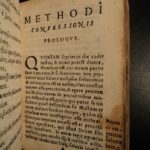 1565 Methods of Confession For Venetian Inquisition Inquisitors Venice / Methodvs Confessionis