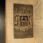 1762 Antiphons Chants & Holy Relics Saint SATURNIN GAUL Celtic Druids 17 Plates