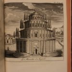 1748 Ancient Rome Julius Caesar Coliseum Architecture Atlas MAPS Roman Empire