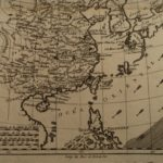 1780 Copper MAP Empire of CHINA Asia Japan Orient Chinese Tartary Bonne 42cm X 25.5cm