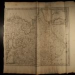 1774 HUGE MAP of Eastern Europe RUSSIA Moscow Scandinavia Tartary ATLAS