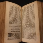 1633 Turkish Letters of Busbecq Turkey Constantinople Ottoman Turks War Sultans