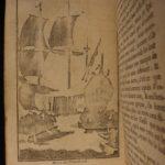 1724 2nd ed Robinson Crusoe Daniel Defoe Voyages Illustrated SET Shipwreck Castaway / EXTREMELY Rare 2nd Illustrated edition 2v SET