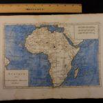 1780 Color Copper Map AFRICA Madagascar EGYPT Morocco Hottentot 41cm X 27cm