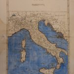 1780 Color Copper Map ITALY Sicily Corsica Sardinia Rome Venice 41cm X 27cm