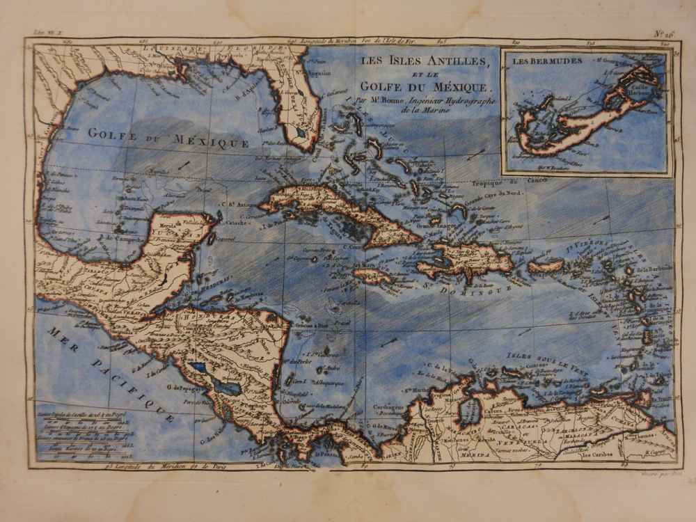 Schilb Antiquarian - Florida map to color