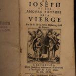 1631 Mariology Joseph & Virgin Mary Holy Family Serre Catholic Brussels Belgium