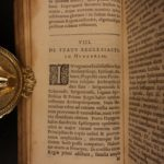1634 History of HUNGARY Military Holy Roman Ottoman Empire ELZEVIR Transylvania
