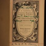 1874 Imitation of Christ Thomas a Kempis De Imitatione Christi Catholic Classic