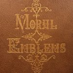 1860 1st ed Moral Emblems of Jacob Cats Illustrated Dutch Poetry Fine Binding