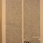 1519 Post Incunable John Major SCOTTISH Philosophy Sententiarum Jodocus Badius