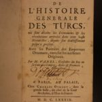 1689 History of TURKEY Turks OTTOMAN Empire Middle East Muslim SET Sultans Wars