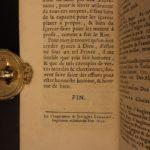1699 1st ed French Sun King Louis XIV Laws France Versailles Bourbon Navarre