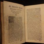 1583 1st ed Furious Lover Florence Borghini ITALIAN Renaissance Comedy Romance