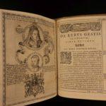 1578 1st ed History of Scotland John Leslie Origine Moribus Scotorum Scottish