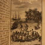 1720 1st ed Robinson Crusoe Daniel Defoe Voyages Illustrated Shipwreck Castaway