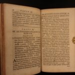 1711 1st ed Commentary on History of Flagellation Schottgen Occult Masochism