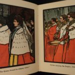 1902 1st ed Bairn's Coronation Book King Edward Illustrated Charles Robinson ART