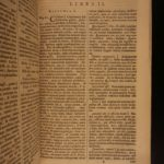 1693 Familiar Letters CICERO Philosophy Politic Epistolae Familiares 4v SET Rome