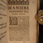 1632 Guibert's Charitable Physician Remedies Homeopathy Medicine Alchemy Drugs