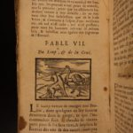 1687 Fables of Aesop Ancient Greek Folk Tales 100 Woodcut ART Engravings Baudoin