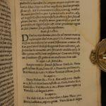 1539 1st ed Famous Magistratibus of Fenestella Roman Law CULTS Pagan Priesthood