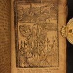 1770 Pilgrim's Progress Puritan John Bunyan Illustrated Allegory Demons Angels