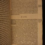 1590 Britannia by William Camden Great Britain IRELAND SCOTLAND Saxons England