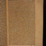 1557 1st ed Life of Pope Leo X Adrian VI Catholic Papacy Vatican Pompeo Colonna