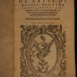 1565 History of Caesar Maggi of Naples WARS of Italy Italian Military Contile