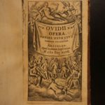 1647 1st ed Works of OVID Mythology Epistles Metamorphoses Heroides Fasti 3v SET