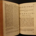1678 GREEK text Herodian Roman Histories Commodus Julius Caesar ROME Alexander