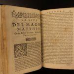 1632 1ed Lives of Twelve Visconti Duchy of MILAN Italy Como Giovio FINE BINDING