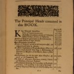 1684 Rare Anglican Sparrow Documents King Edward VI James I Charles I Elizabeth