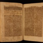 1691 1st Philo of Alexandria Jewish Philosophy COMPLETE Works HUGE FOLIO Greek