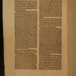 1505 1ed Albertus Magnus Bible & Commentary Gospel of Matthew Science & Religion