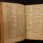 1649 CZECH Comenius Janua Linguarum Reserata Linguistics Language Latin Elzevier