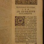 1717 Gottfried Wilhelm von Leibniz on Language Etymology Celtic Teutons Druids