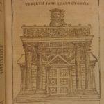 1659 Rosinus Antiquitatum Romanarum ROME Antiquities Caesars MAP Archaeology