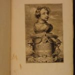 1645 1st ed ART of Anthony van Dyck Icones Principum Virorum 68 FAMOUS Portraits