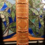 1884 EXQUISITE Life of Joseph Addison by Courthope English Literature Theater
