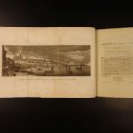 1791 1st ed Addition of Thomas Pennant History of LONDON Britain Westminster  London & Westminster ca. 1563 & Great Fire PLATES!