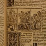 1512 Fasti by OVID Mythology Roman Gods Latin Marsus Commentary Post Incunable