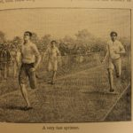 1894 1st ed Athletics & FOOTBALL Soccer England Australia Rugby Illustrated