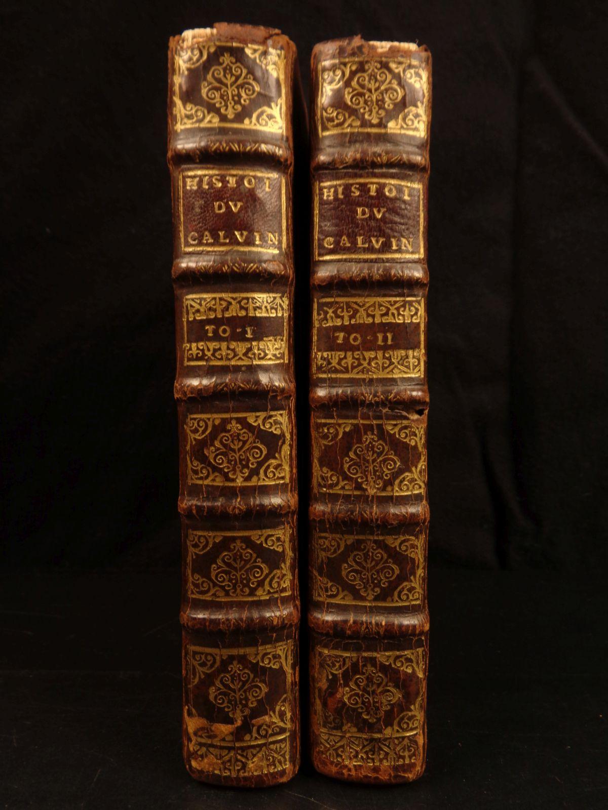 1st Ed. Antiquarian Rare Leather-bound Materia Medica and Therapeutics Royle 1847