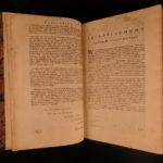 1738 Chambers Cyclopaedia FOLIO Astronomy Medicine Law Navigation Illustrated 2v