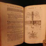 1690 Geometry Le Clerc Mathematics & Architecture CLASSIC Illustrated Landscapes