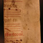 An unstudied 18th century manuscript bound in a circa 15th century medieval manuscript