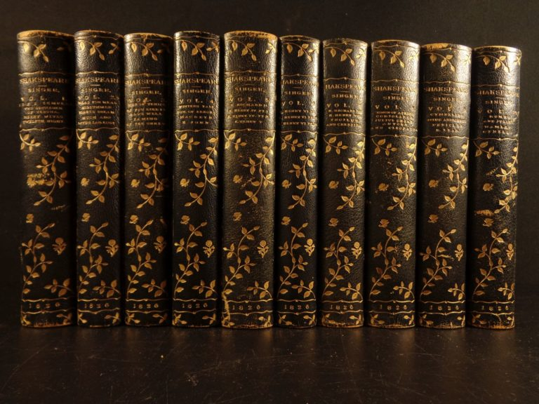 Image of 1826 BEAUTIFUL Works of Shakespeare Illustrated Theatre Romeo & Juliet Plays 10v
